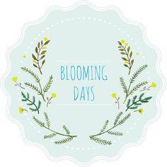 blooming days sticker♬ ( '-' )