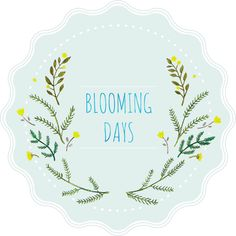 blooming days sticker♬ ( '-' )