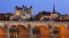 ✅ Pont Cessart et Château de Saumur (49)