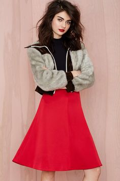 Cameo No Advice Taffeta Skirt | Shop What's New at Nasty Gal