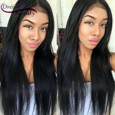 83.13$ Buy here - http://alicd8.worldwells.pw/go.php?t=32785093256 - Full Lace Human Hair Wigs for Black Women Glueless Full Lace Wigs 150% Brazilian Virgin Hair Straight Lace Front Human Hair Wigs