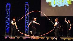 """DDCW2013 """"Open Performance"""" Hot Dog USA (Double Dutch Contest World)"""