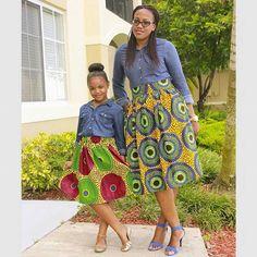Trend Alert – Denim, Chambray, Denim-on-Denim And Dungarees~African fashion, Ankara, Kente, kitenge, African women dresses, African prints, African men's fashion, Nigerian style, Ghanaian fashion ~DKK
