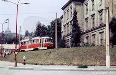 Bratislava, Japan Garden, Old Photos, Street View, Transportation, Nostalgia, Public, Times, Retro