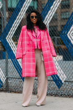 It Might Be Winter, but the Fashion Week Street Style Has Never Been So Bright