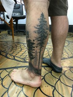 Forest tattoo                                                                                                                                                                                 Más Tree Tat, Forest Tattoos, Tatting, Tattoo Ideas, Inspiration Tattoos, Tattoos, Needle Tatting