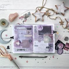 Image about purple in Bullet Journal - Doodles ✏ by Colourful_Butterfly Bullet Journal Banner, Bullet Journal 2019, Bullet Journal Lettering Ideas, Bullet Journal Notebook, Bullet Journal Ideas Pages, Bullet Journal Inspiration, Art Journal Pages, Bullet Journal Spread, Filofax