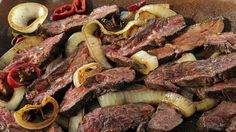 I just discovered this amazing recipe Hanger Steak with Salsa Picante on Panna by Chef Jonathan Waxman!