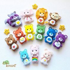 Winnie the pooh and friends Felt Animal Patterns, Felt Crafts Patterns, Felt Crafts Diy, Polymer Clay Crafts, Felt Diy, Stuffed Animal Patterns, Cute Crafts, Sewing Crafts, Sewing Projects