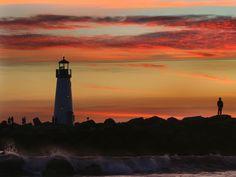 Santa Cruz Lighthouse wallpaper