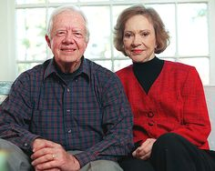 President Jimmy Carter and First Lady Rosalynn Carter Presidents Wives, American Presidents, American First Ladies, American Pride, American Art, Georgie, Carter Family, Jimmy Carter, People Of Interest