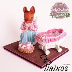 "Baby Shower Cake ""Beatrix Potter""  https://www.facebook.com/Pirikos"