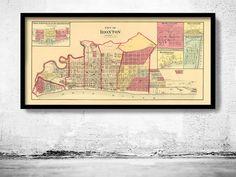 Old map of Ironton Ohio 1877 United States  - product image