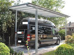 Carport aus Stahl feuerverzinkt für Wohnmobil