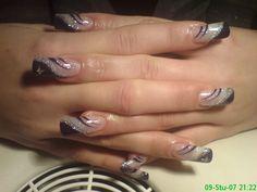 Elegant Bridal Nails, Nail Shop, Nail Art Galleries, French Nails, Nail Inspo, Nail Art Designs, Acrylic Nails, Nail Polish, Nail Ideas
