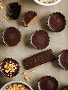No tricks, all treat! This healthier take on the Halloween favorite uses dark chocolate, refined coconut oil, maple syrup and roasted peanuts to create a more-than-satisfying crunchy candy. Grab the recipe from Oh, Ladycakes.