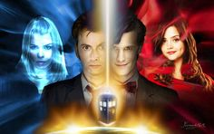 Doctor Who Rose Tyler and Clara Oswald