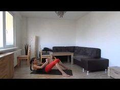 Spalovačka na břicho, celkem 3 série, začátečníci 2x :) - YouTube