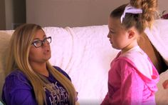 Teen Mom Photo from Season 6 (TM OG Season 2) Amber Portwood and her daughter Leah #amber #portwood #amberportwood #teen #mom #teenmom #mtv #16andpregnant