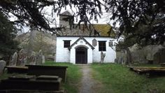 St. Mary's church (built in 1762), Capel Y Ffin, Powys. Photo: Lynette Miller