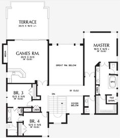 Plan No.325742 House Plans by WestHomePlanners.com