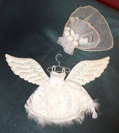 SPLAT PAINT - ART Journaling: Small angel or wedding dress and veil - Ruby's Sha...