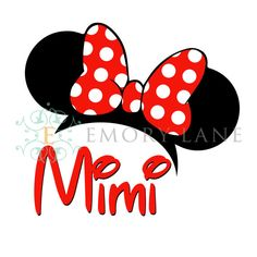 Minnie Mouse Printable Mimi Instant Download by EmoryLaneStudios, $3.75