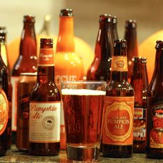 The best pumpkin beers...according to Lee Breslouer.  I don't know if I agree, plus limiting yourself to one beer per brewery cuts out a lot of good pumpkin beers from Elysian.