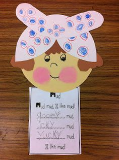 Mrs. Wishy Washy and mud poem using adjectives to describe the mud. Standard 1.RL.4 Reading Literature. Craft & Structure. Identify words and phrases in stories or poems that suggest feelings or appeal to the senses.