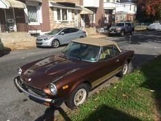 Fiat 124 Spider, Bmw, Bella, Classic, Vehicles, Derby, Cars, Classical Music, Vehicle