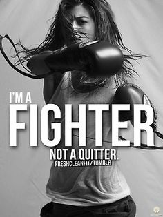 To be a daughter of the King is to be a fighter...We fight for our faith in Christ