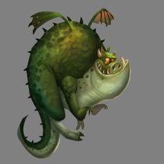 Fat Dragon by VisHuS702