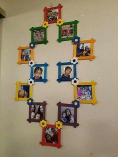 Diy crafts for kids art popsicle sticks 49 Ideas Popsicle Stick Art, Popsicle Crafts, Craft Stick Crafts, Paper Crafts, Craft Ideas, Craft Stick Projects, Ice Cream Stick Craft, Craft Sticks, Paper Toys