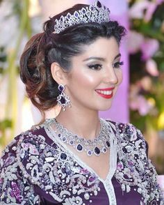 coiffure de mariée algerienne arabic_makup en 2019