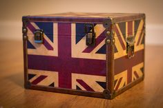 Union Jack Storage Box