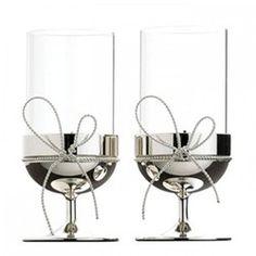 Pair of tealight holders