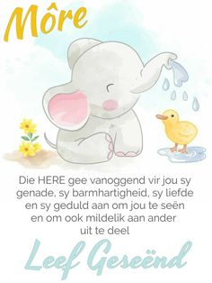 Good Night My Friend, Goeie More, Good Morning Wishes, Afrikaans, Christian Inspiration, Gods Love, Winnie The Pooh, Friendship, Messages