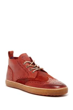 Blackstone Wingtip High Top Sneaker