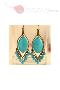 Graceful Bohemia Style Lady's Earrings