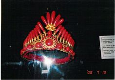 Madagascar Coral Tiara. This tiara was presented by France President François Paul Jules Grévy in November 1886 to Queen Ranavalona III of Madagascar.