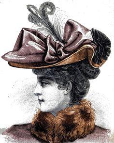 chapeau pour jeune femme