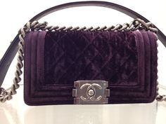 Chanel Boy bag winter '13 -