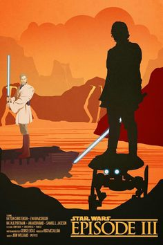 Star Wars Fan Art, Star Wars Film, Star Wars Poster, Ralph Mcquarrie, Star Trek Enterprise, Star Trek Voyager, Anakin Vs Obi Wan, Star War Episode 3, Star War 3