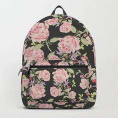 A pink floral rose in pattern. Texture grain in the design close up. Perfect for girls that love backpacks, backpack bags. Art Bag, Vera Bradley Backpack, Backpack Bags, Backpacks, Texture, Rose, Floral, Girls, Pattern