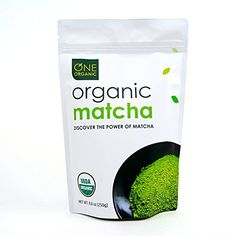 ONE ORGANIC Matcha Green Tea Powder - USDA Certified Organic (Summer Special Savings) USDA Organic Certified Made from ground green tea leaves Culinary Matcha -- Great for adding into cakes, smoothies, tea drinks and other healthy recipes. Organic Matcha Powder, Organic Matcha Green Tea, Matcha Green Tea Powder, Green Powder, Smoothie Prep, Raspberry Smoothie, Smoothie Recipes, Smoothies, How To Make Drinks