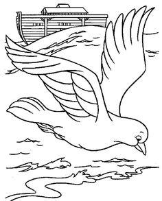 Printable Noah's Ark Coloring