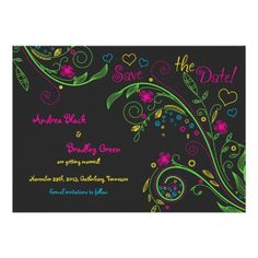 DealsNeon Doodle Floral Wedding Save the Date Announcementsyou will get best price offer lowest prices or diccount coupone