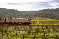 Napa Wine Train, Napa Valley