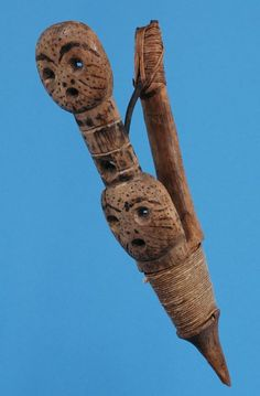 Tlingit Halibut Hook Carved with Two Mask F on LiveAuctioneers Fishing Books, Fishing Tips, Fish Mask, Halibut Fishing, Fishing Photography, Tlingit, Dawn And Dusk, Fish Finder, Types Of Fish