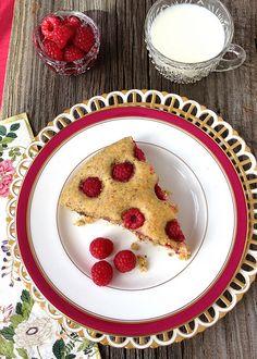 A Recipe for Raspberry Breakfast Cake